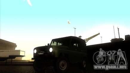 UAZ 31512 verde cazador para GTA San Andreas