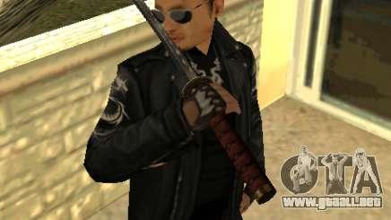 Reemplazo de pieles Yakuza para GTA San Andreas