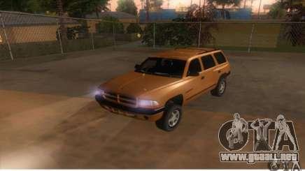 Dodge Durango 1998 para GTA San Andreas
