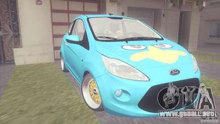 Ford Ka Stance Perry Edtion para GTA San Andreas