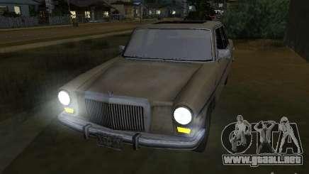Mercedes-Benz de Call of Duty 4 para GTA San Andreas