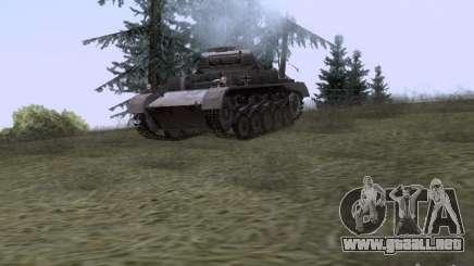 PzKpfw II Ausf.A para GTA San Andreas