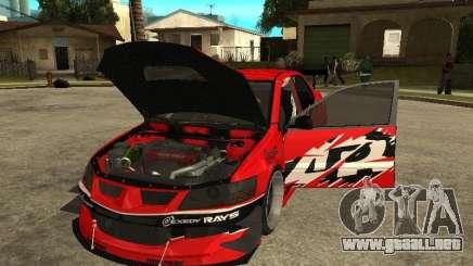 Mitsubishi Lancer Evolution IX Tokio Drift para GTA San Andreas