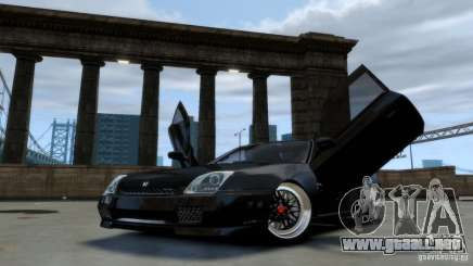 Honda Prelude SiR VERTICAL Lambo Door Kit Carbon para GTA 4