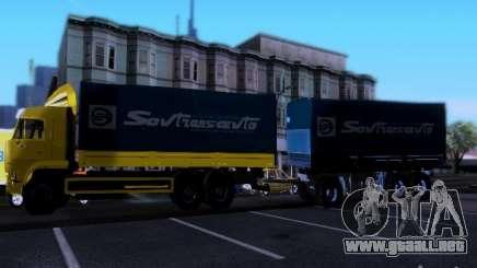 Remolque Kamaz 62117 para GTA San Andreas