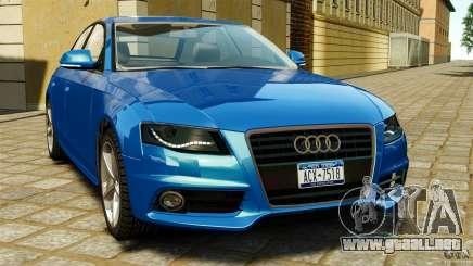 Audi A4 2010 para GTA 4