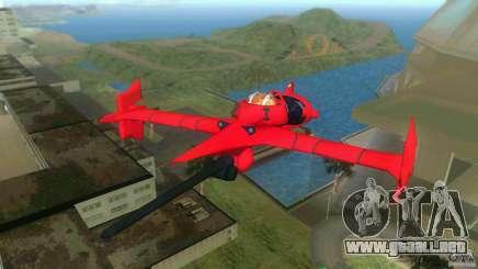 Swordfish Mono Racer para GTA Vice City