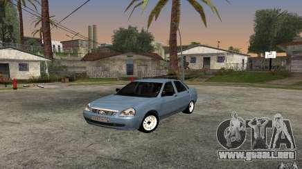 LADA priora luz tuning para GTA San Andreas