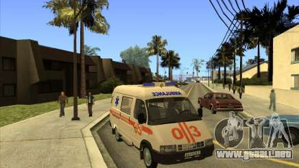 Ambulancia 22172 del GAS para GTA San Andreas