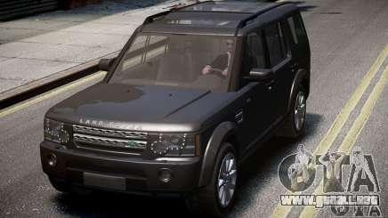 Land Rover Discovery 4 2013 para GTA 4