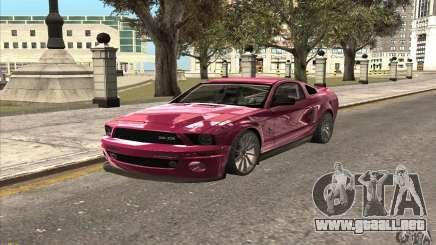 Ford Shelby GT500KR Super Snake para GTA San Andreas