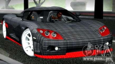 Koenigsegg CCX silver para GTA San Andreas