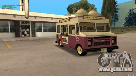 Chevrolet Forvard Control 20 Ice Cream para GTA San Andreas