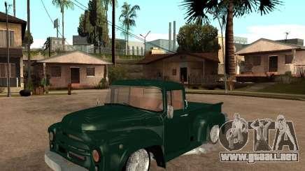 ZIL 130 ardiente Tempe v1.0 para GTA San Andreas