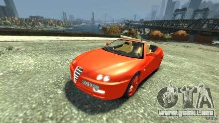 Alfa Romeo GTV Spider para GTA 4