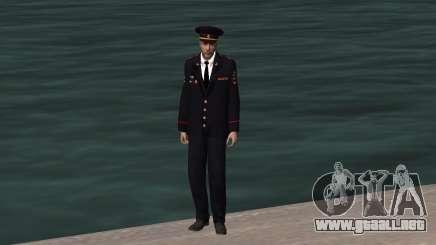 El funcionario del Ministerio del INTERIOR para GTA San Andreas