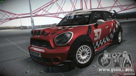 Mini Countryman WRC para GTA San Andreas