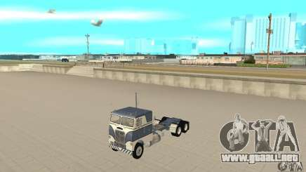 White Freightliner Extended Wheel Base para GTA San Andreas