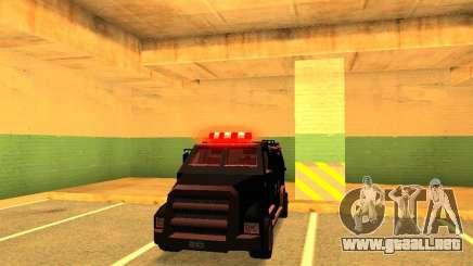 Swat III Securica para GTA San Andreas
