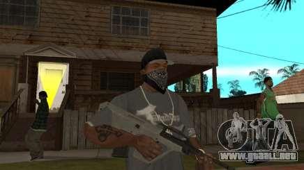 AUG HBAR con un ojo para GTA San Andreas