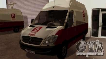 Mercedes-Benz Sprinter 5 canales para GTA San Andreas