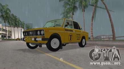 Taxi VAZ 2106 para GTA Vice City