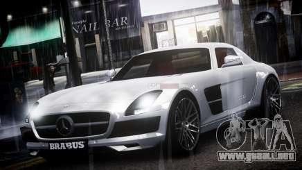 Mercedes-Benz SLS 2011 Brabus AMG Widestar v1.1 para GTA 4