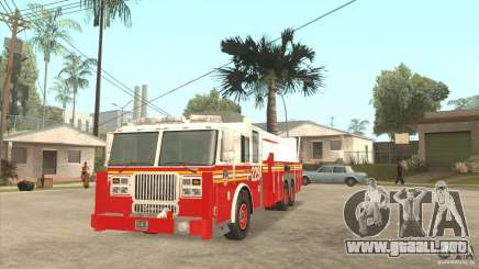 FDNY Seagrave Marauder II Tower Ladder para GTA San Andreas
