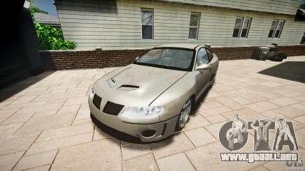 Pontiac GTO 2004 para GTA 4