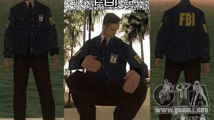 HQ skin FBI para GTA San Andreas