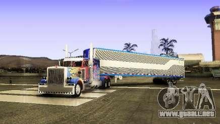 Truck Optimus Prime v2.0 para GTA San Andreas