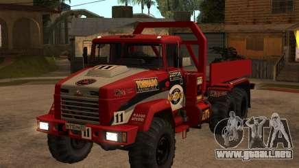 KrAZ-6322 juicio para GTA San Andreas