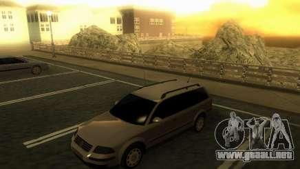 Vw Passat B5+ Wagon 1,9 TDi para GTA San Andreas