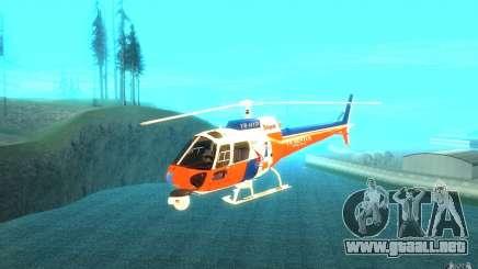 AS-350 TV para GTA San Andreas