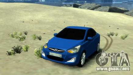 Hyundai Solaris Arab Edition para GTA 4