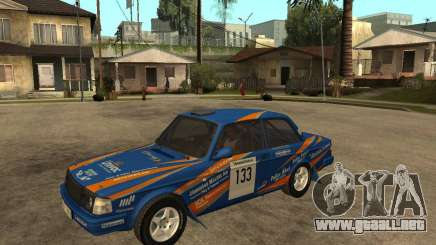 Volvo 242 Lightspeed Rally Edition para GTA San Andreas