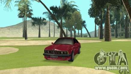 BMW M6 E24 stock para GTA San Andreas