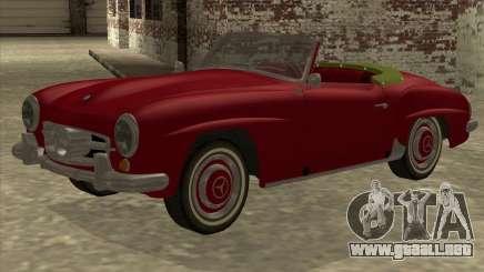 Mercedes Benz 190SL 1960 para GTA San Andreas