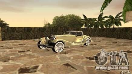 Mercedes-Benz 500K para GTA San Andreas