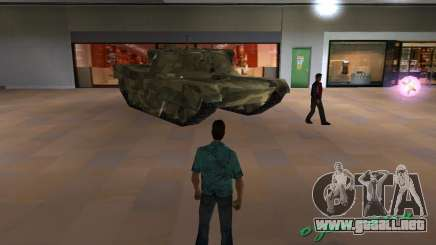 Tanque de Camo para GTA Vice City