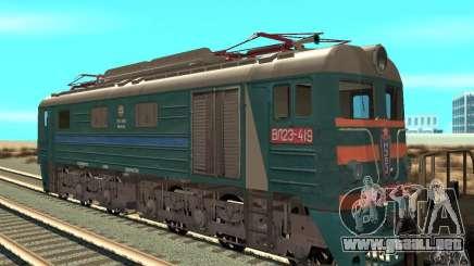 Locomotora VL23-419 para GTA San Andreas