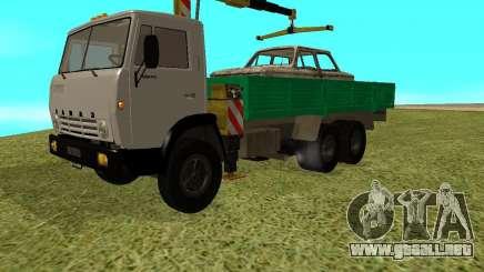 KAMAZ 53212 manipulador para GTA San Andreas