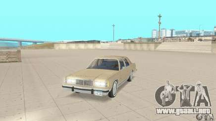 Mercury Grand Marquis LS 1986 para GTA San Andreas