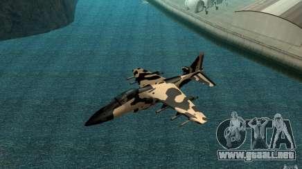 Camo Hydra para GTA San Andreas