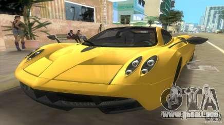 Pagani Huayra para GTA Vice City