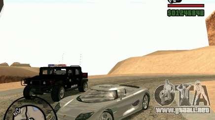 Koenigsegg CC8S para GTA San Andreas