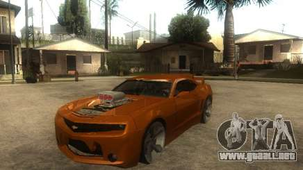 Chevrolet Camaro SS Dark Custom Tuning para GTA San Andreas