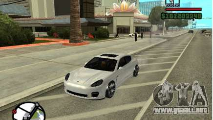 Porshe Panamera para GTA San Andreas
