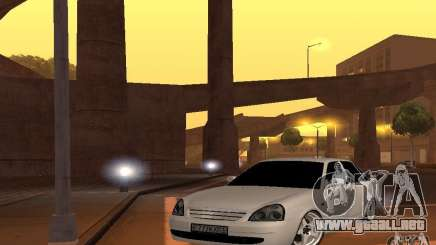 LADA priora v. 2 para GTA San Andreas