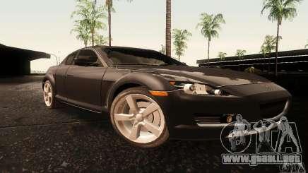 Mazda RX-8 Tuneable para GTA San Andreas